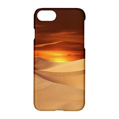 Desert Sun Landscape Sunset Dune Apple Iphone 7 Hardshell Case
