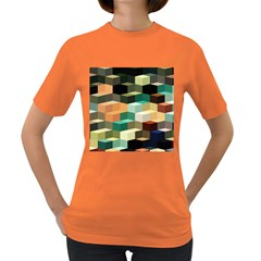 Art Design Color Pattern Creative Women s Dark T Shirt