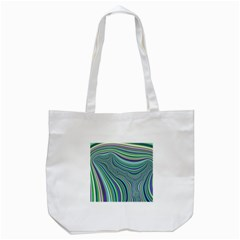 Art Fractal Gradient Colorful Infinity Pattern Tote Bag (white)