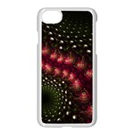 Background Texture Pattern Art Apple iPhone 7 Seamless Case (White) Front