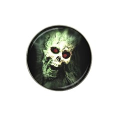 Screaming Skull Human Halloween Hat Clip Ball Marker