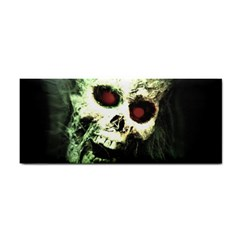 Screaming Skull Human Halloween Hand Towel