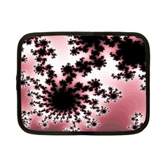 Fractal Pattern Pink Netbook Case (small)