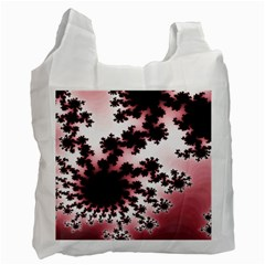 Fractal Pattern Pink Recycle Bag (two Side)
