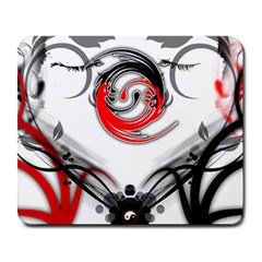 Abstract Fractal Digital Art Large Mousepads