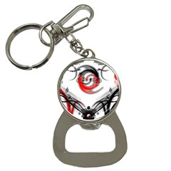 Abstract Fractal Digital Art Bottle Opener Key Chains