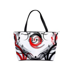 Abstract Fractal Digital Art Classic Shoulder Handbag