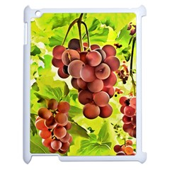 Grape Harvest Nature Figure Rustic Apple Ipad 2 Case (white)