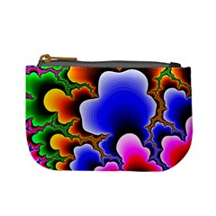 Fractal Background Pattern Color Mini Coin Purse