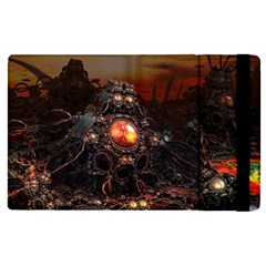 Fractal Mandelbulb 3d Action Ipad Mini 4 by Wegoenart
