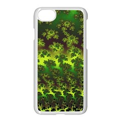 Fractal Gradient Colorful Infinity Apple Iphone 8 Seamless Case (white) by Wegoenart