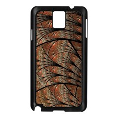 Fractals Artistic Digital Design Samsung Galaxy Note 3 N9005 Case (black)