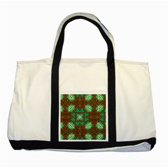 Art Design Template Decoration Two Tone Tote Bag by Wegoenart