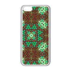 Art Design Template Decoration Apple Iphone 5c Seamless Case (white)