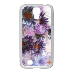 Flower Digital Art Artwork Abstract Samsung Galaxy S4 I9500/ I9505 Case (white)