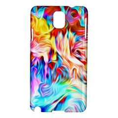 Background Drips Fluid Colorful Samsung Galaxy Note 3 N9005 Hardshell Case