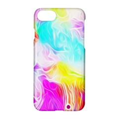 Background Drips Fluid Colorful Pattern Apple Iphone 7 Hardshell Case