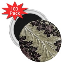 Pattern Decoration Retro 2 25  Magnets (100 Pack)
