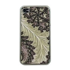 Pattern Decoration Retro Apple Iphone 4 Case (clear)