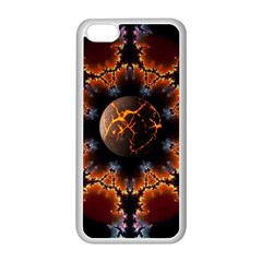 Fractal Space Fantasy Apple Iphone 5c Seamless Case (white)