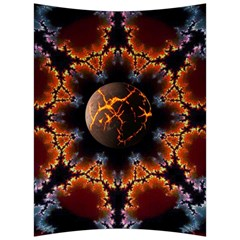 Fractal Space Fantasy Back Support Cushion