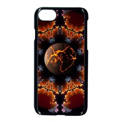 Fractal Space Fantasy Apple Iphone 8 Seamless Case (black)