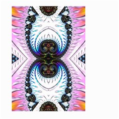 Pattern Texture Fractal Colorful Large Garden Flag (two Sides)