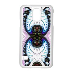 Pattern Texture Fractal Colorful Samsung Galaxy S5 Case (white)