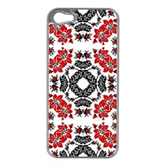 Ornament Seamless Pattern Element Apple Iphone 5 Case (silver)