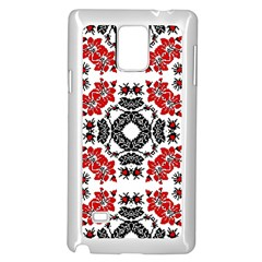Ornament Seamless Pattern Element Samsung Galaxy Note 4 Case (white)