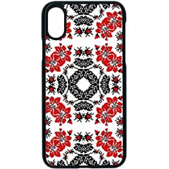 Ornament Seamless Pattern Element Apple Iphone Xs Seamless Case (black)