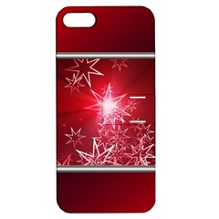 Christmas Candles Apple Iphone 5 Hardshell Case With Stand