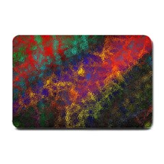 Pattern Background Wallpaper Small Doormat  by Wegoenart