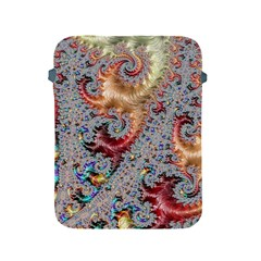 Fractal Artwork Design Pattern Apple Ipad 2/3/4 Protective Soft Cases by Wegoenart