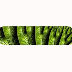 Fractal Background Abstract Green Large Bar Mats by Wegoenart