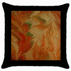 Mottle Color Movement Colorful Throw Pillow Case (black)