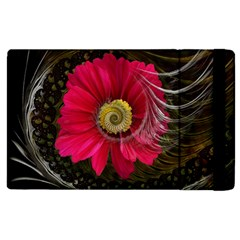 Fantasy Flower Fractal Blossom Apple Ipad 3/4 Flip Case by Wegoenart