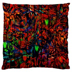 Dance  Of The  Forest 1 Large Cushion Case (one Side)