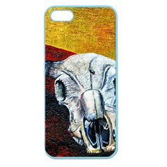 Skull 2 Apple Seamless Iphone 5 Case (color)