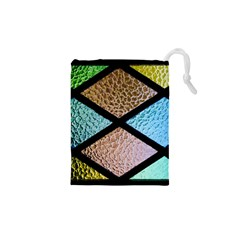 Stained Glass Soul Drawstring Pouch (xs)