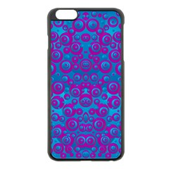 The Eyes Of Freedom In Polka Dot Apple Iphone 6 Plus/6s Plus Black Enamel Case