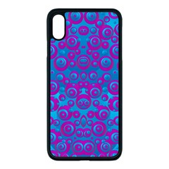 The Eyes Of Freedom In Polka Dot Apple Iphone Xs Max Seamless Case (black) by pepitasart