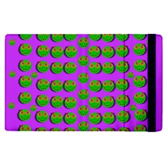 The Happy Eyes Of Freedom In Polka Dot Cartoon Pop Art Apple Ipad Pro 12 9   Flip Case