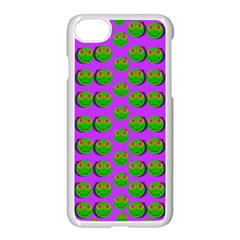 The Happy Eyes Of Freedom In Polka Dot Cartoon Pop Art Apple Iphone 7 Seamless Case (white)