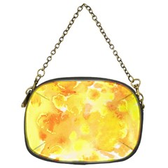 Yellow Party Chain Purse (one Side)