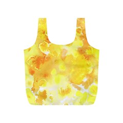 Yellow Party Full Print Recycle Bag (s) by FEMCreations