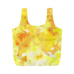 Yellow Party Full Print Recycle Bag (m)