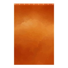 Orange Watercolor Shower Curtain 48  X 72  (small)