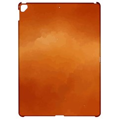 Orange Watercolor Apple Ipad Pro 12 9   Hardshell Case