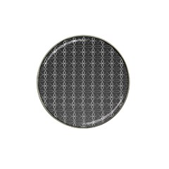 Circle Chic Grey Hat Clip Ball Marker (10 Pack)